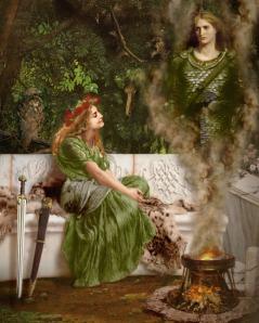 Celtic Queen Boudica & the Morrigu