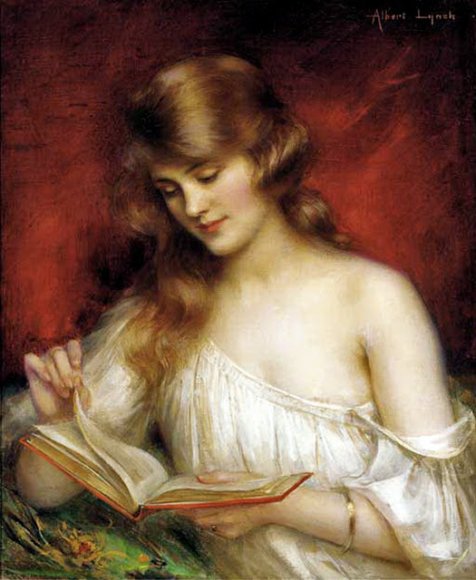 Albert Lynch Peruvian artist, 1851-1912 A Quiet Read