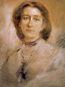Cosima Wagner by Franz von Lenbach