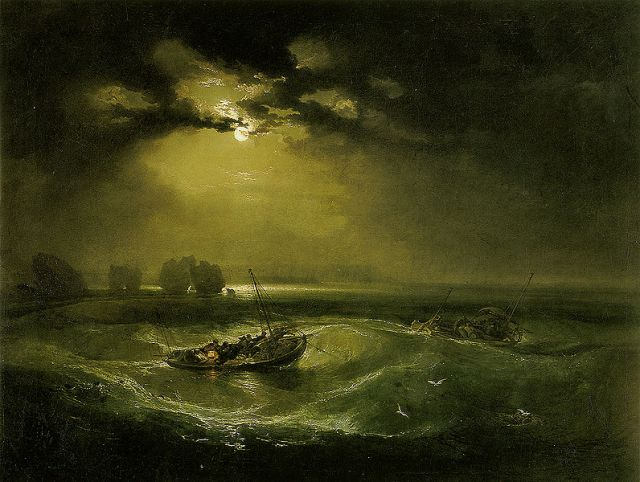 William Turner: Fishermen at Sea